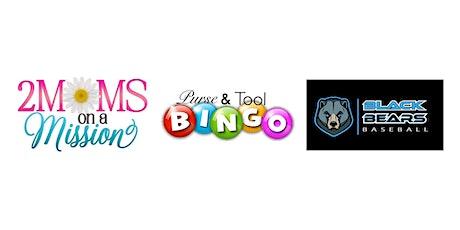 2MOMS & Black Bears Baseball Purse/Tool Bingo tickets