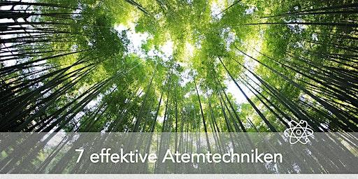 7 effektive Atemtechniken