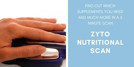 ZYTO Nutritional Scanning - Find out what supplements your body needs! tickets