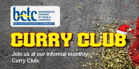 January BCTC Curry Club tickets