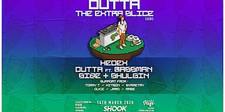 Shook - Hedex, Dutta, Bassman tickets