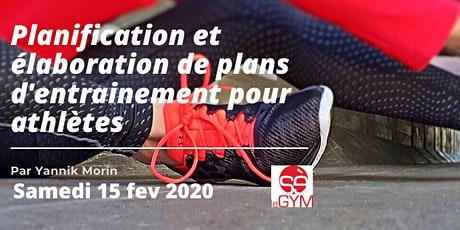 Planification et élaboration de plans d'entraînement pour athlètes billets