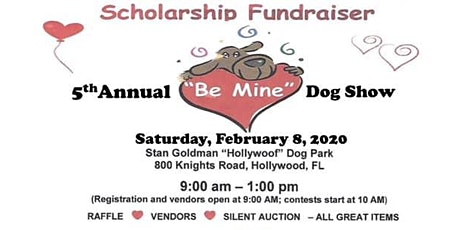 """""""Be Mine"""" Annual Dog Show tickets"""