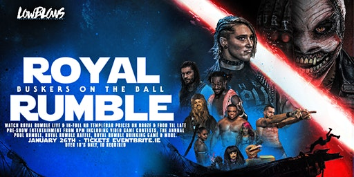 WWE Royal Rumble 2020 @ Buskers OTB