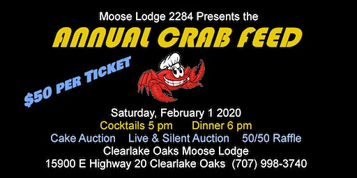 MOOSE LODGE 2284 CRAB FEED