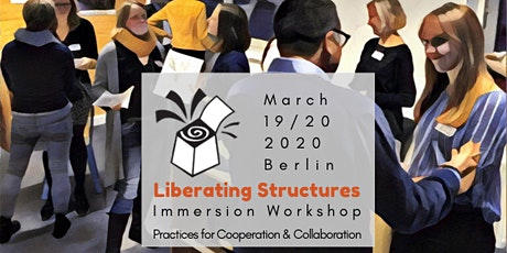 Liberating Structures Immersion Workshop Tickets