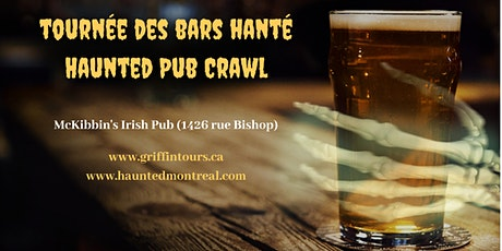 Haunted Pub Crawl billets