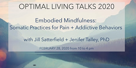 Optimal Living Talk:  Embodied Mindfulness tickets