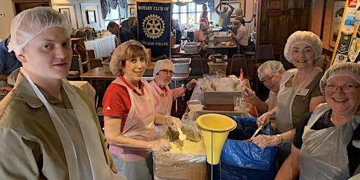 Rotary Chicago Club Coalition Meeting &  Service Project