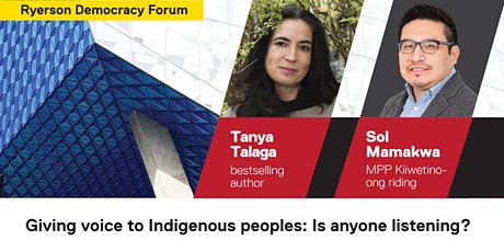 Giving voice to Indigenous peoples: Is anyone listening? tickets