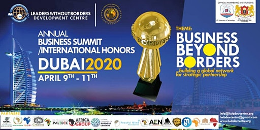 LEADERS WITHOUT BORDERS ANNUAL BUSINESS SUMMIT / INTERNATIONAL HONORS 2020