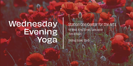 Wednesday Evening Community Yoga -- ONLINE tickets