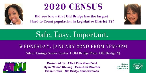 Middlesex County 2020 Census Neighbor Night