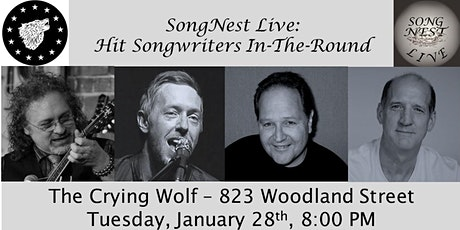 SongNest Live: Hit Songwriters In-The-Round, Tuesday January 28th, 2020 tickets