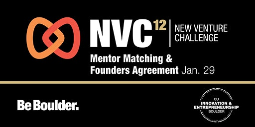 NVC 12: Mentor Matching and Founders Agreement