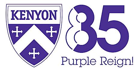 Kenyon '85: 35th Reunion social fees tickets