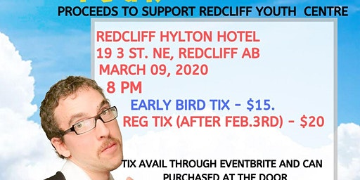 The Human Condition Spring Comedy Tour - Redcliff, AB