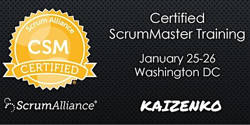 Certified Scrum Master (CSM) Training Workshop in Washington DC by Fadi Stephan