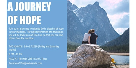 A Journey of Hope for Marriage tickets