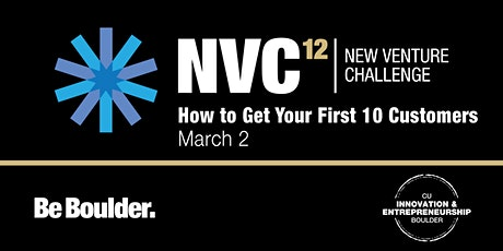 NVC 12: How to Get Your First 10 Customers tickets