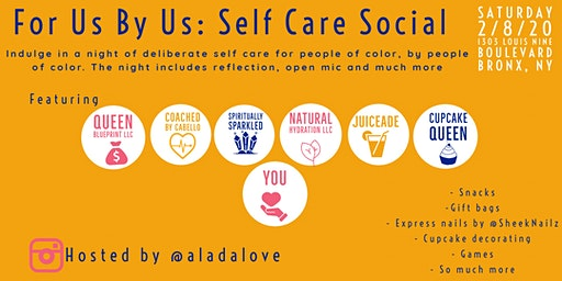 For Us By Us: Self Care Social