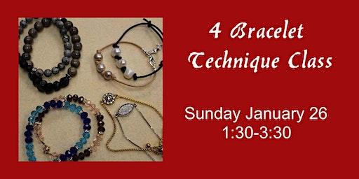 4 Bracelet Technique Class