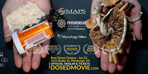 DOSED Documentary + Q&A - Pittsburgh Premiere - Row House - One show only!