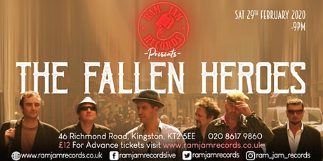 The Fallen Heroes tickets