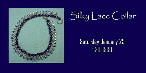 Silky Lace Collar