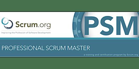 BAgile presents scrum.org Professional Scrum Master ™ tickets