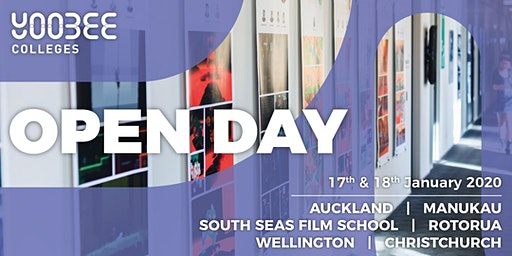 OPEN DAY | Yoobee Colleges - Christchurch Campus