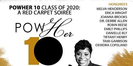 PowHER 10 Red Carpet Soiree' tickets