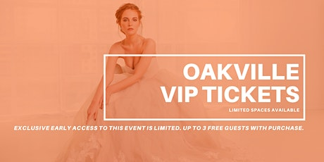 Opportunity Bridal VIP Early Access Oakville Pop Up Wedding Dress Sale tickets