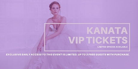 Opportunity Bridal VIP Early Access Kanata Pop Up Wedding Dress Sale tickets