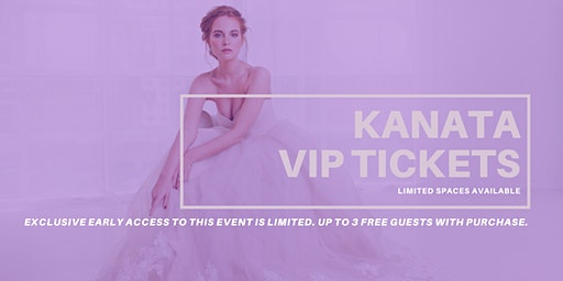 Opportunity Bridal VIP Early Access Kanata Pop Up Wedding Dress Sale