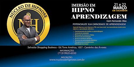 Hipnoaprendizagem em Salvador ingressos