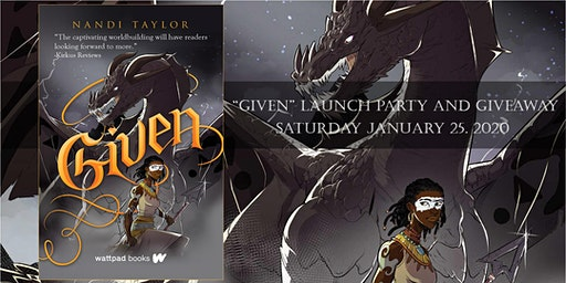 """""""Given"""" Book Launch"""