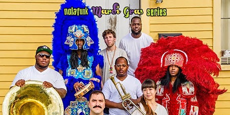 Cha Wa  - New Orleans brass band-meets-Mardi Gras Indian outfit tickets