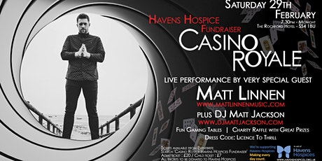 Casino Royale Havens Hospices Fundraiser tickets