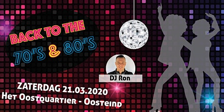 Back to the 70's & 80's tickets