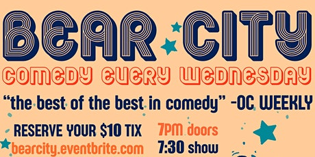 Bear City: Comedy + Pizza! tickets