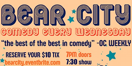 Bear City: Comedy & Pizza!