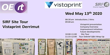 SIRF Vic/Tas - Vistaprint Site Tour   tickets