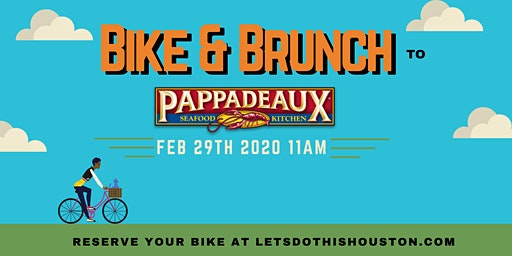 Bike & Brunch to Pappadeaux Seafood Kitchen