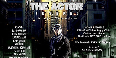 THE ACTOR (òsèrè) Movie, Private Screening (PREMIERE) tickets