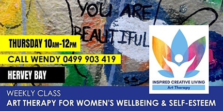 Art Therapy for Women - Building Self-esteem (Hervey Bay) tickets