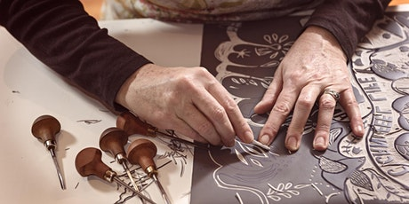 Learn to Linocut with Tom Armstrong tickets