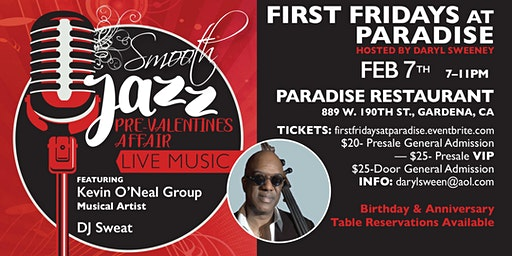 First Fridays at Paradise - Pre-Valentines Affair
