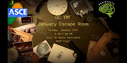 OC YMF Escape Room Social