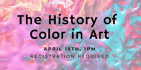 CANCELLED-History Of Color in Art tickets